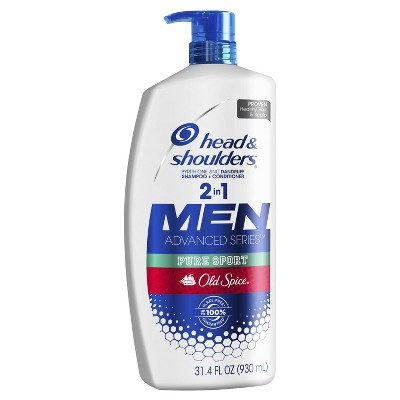 Shampoo & Conditioner: Head & Shoulders Men Old Spice 2-in-1