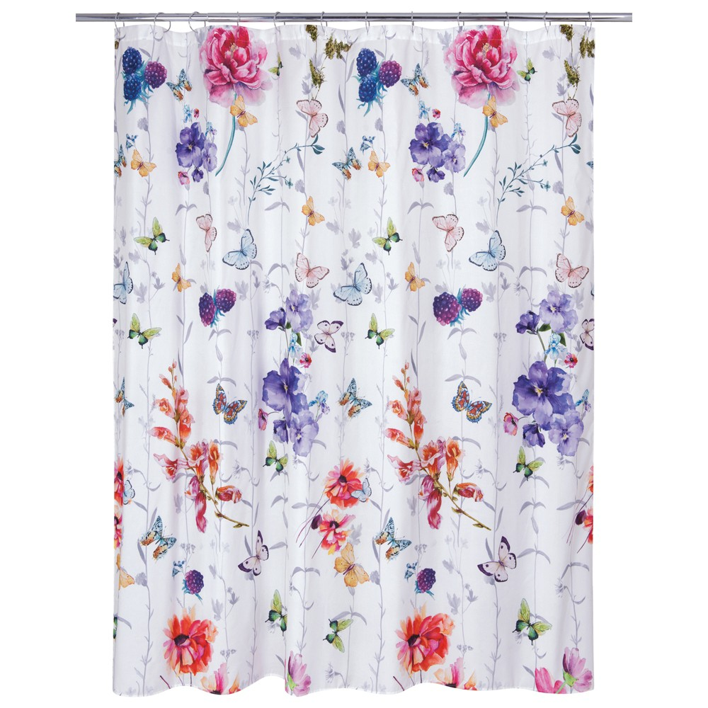 Image of Garden Fall Shower Curtain - Allure Home Creation, Multi-Colored