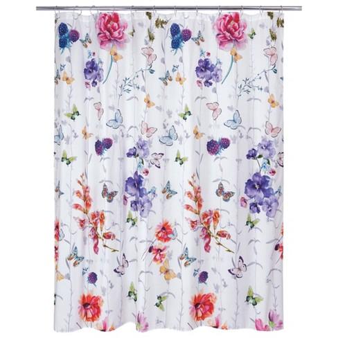 Garden Fall Shower Curtain Allure