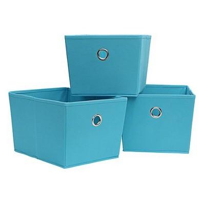 Neu Home Storage Tote 3pc Set Sky Blue