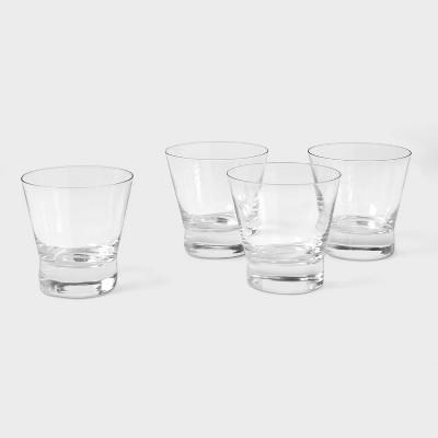 10.7oz 4pk Stemless Cocktail Glasses - Threshold™