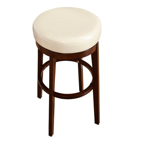 Admirable Counter Stool Target Marketing Sys Off White Brown Machost Co Dining Chair Design Ideas Machostcouk