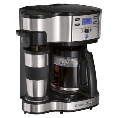 Hamilton Beach Black 2-Way Brewer Coffee Maker- 49980Z