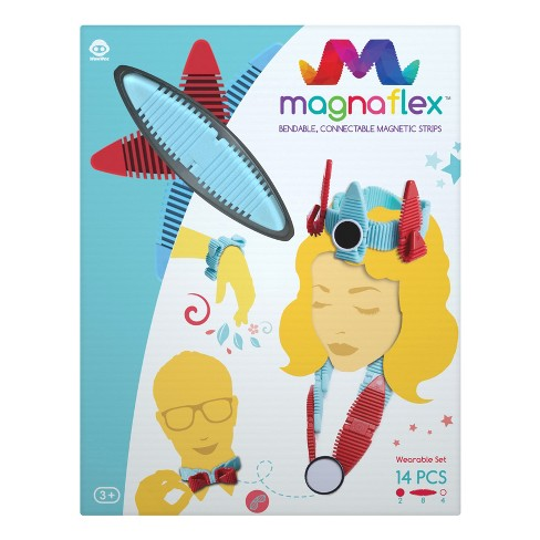 Magnaflex Wearables Set (14pcs) - Flexible Magnetic Construction Kit - image 1 of 6