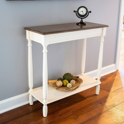 Simplify Console Table White - Décor Therapy