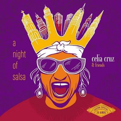 Celia Cruz - A Night of Salsa (2 LP) (Vinyl)