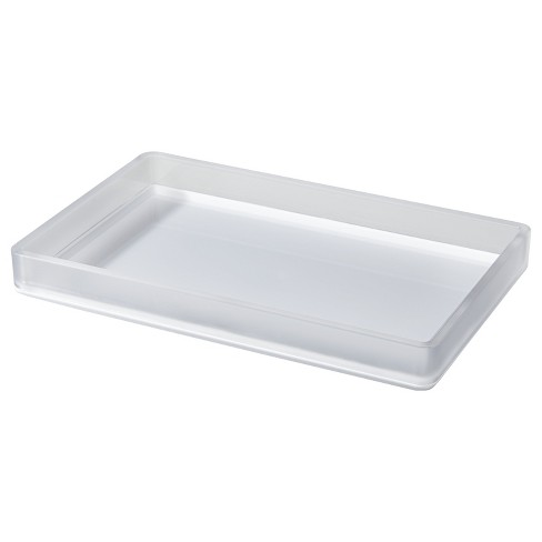 Frosted Bathroom Tray - Room Essentials™ - image 1 of 1