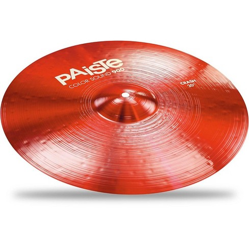 Paiste Colorsound 900 Crash Cymbal Red - image 1 of 1