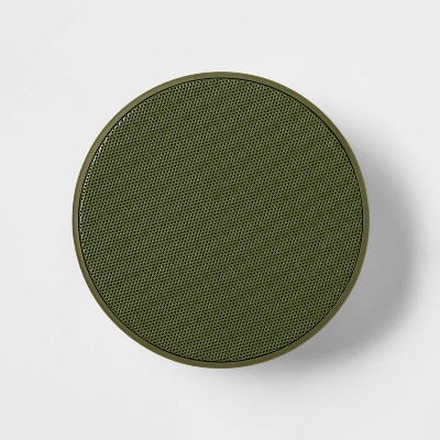 heyday™ Round Strap Bluetooth Speaker - Olive Green