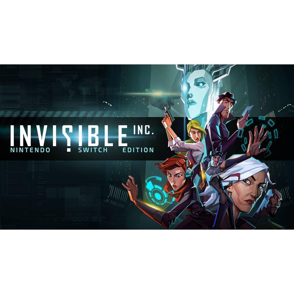 Invisible Inc Nintendo Switch Digital