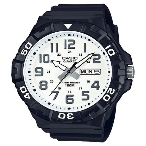 7032b31a2 Men's Casio Analog Digital Watch - Black : Target