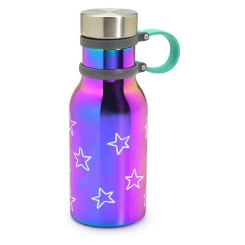 Stainless Steel 12oz Water Bottle - Cat & Jack™ Purple Stars - image 1 of 1