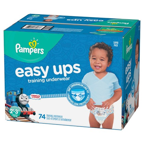 9514aa65060 Pampers Easy Ups Thomas   Friends Training Underwear (Select Size)- Boys.  Shop all Pampers
