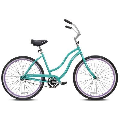 """Kent Women's Kiawah 26"""" Cruiser Bike - Teal Blue"""