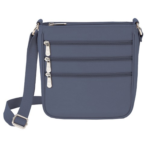 Mondo Triple Zip Crossbody Handbag - Chambray   Target 5a510f950f461