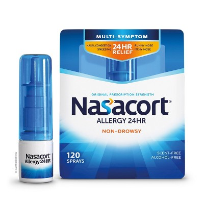 Nasacort Allergy Relief Spray - Triamcinolone Acetonide