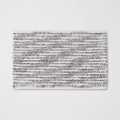 "20""x32"" Spacedye Striped Bath Rug - Threshold™"
