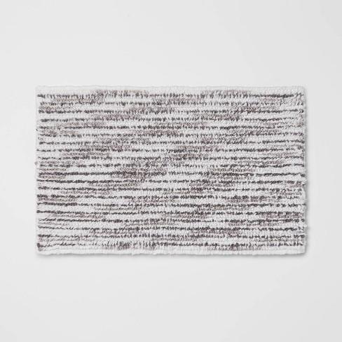"20""x32"" Spacedye Striped Bath Rug - Threshold™ - image 1 of 3"
