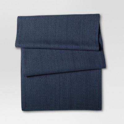 Blue Textured Table Runner - Threshold™