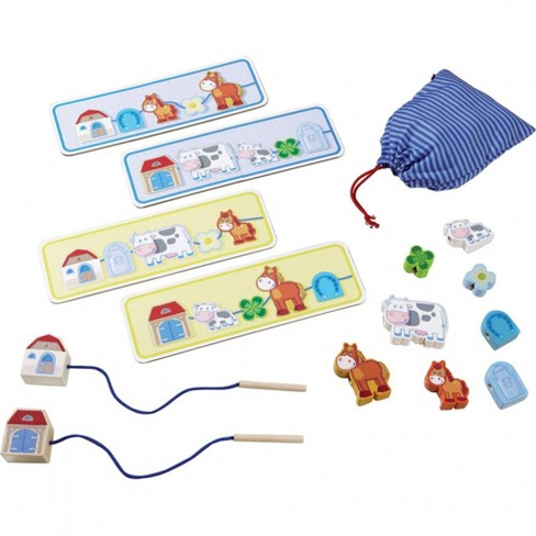 Haba On the Farm Threading Game - image 1 of 2