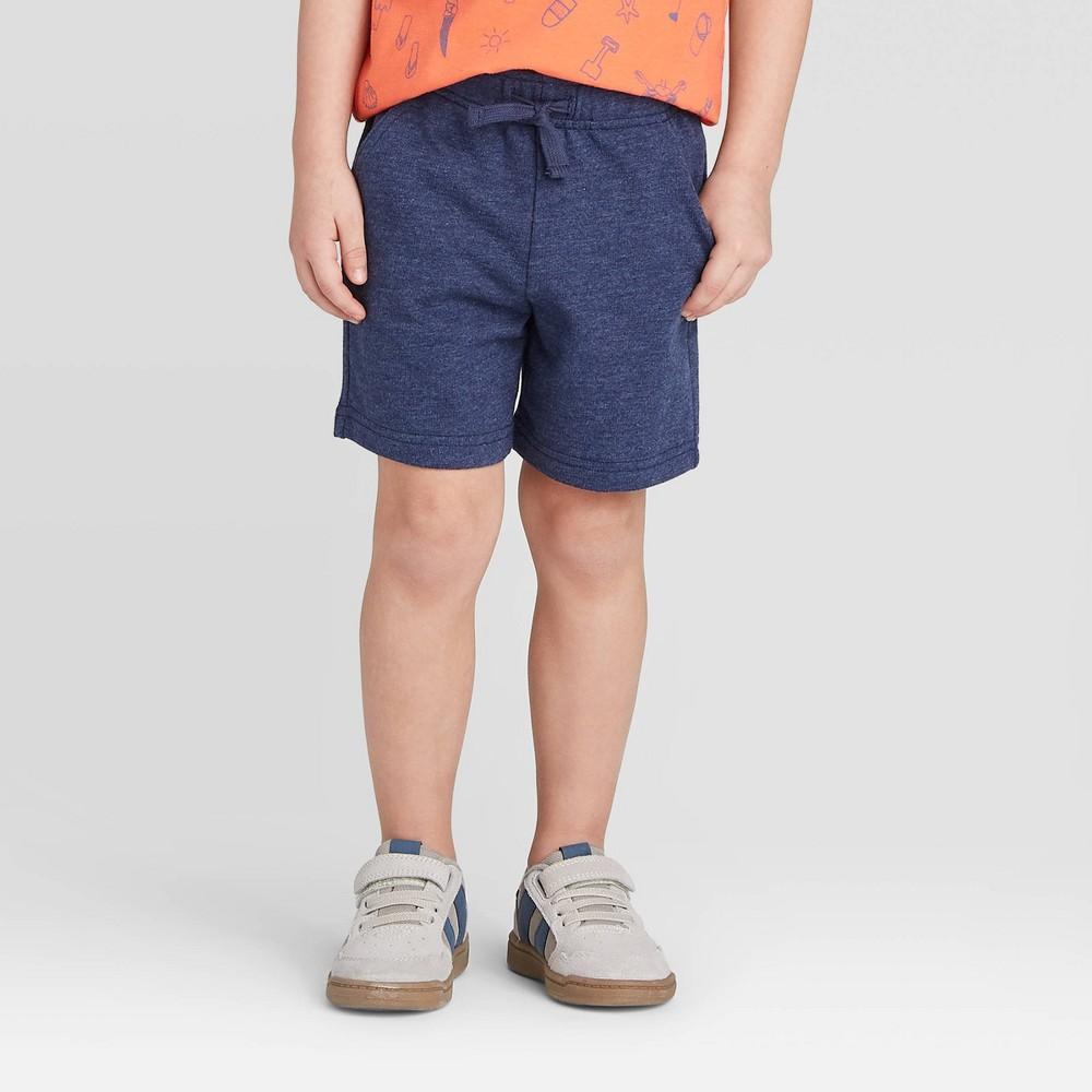 Toddler Boys 39 Knit Pull On Shorts Cat 38 Jack 8482 Navy 18m