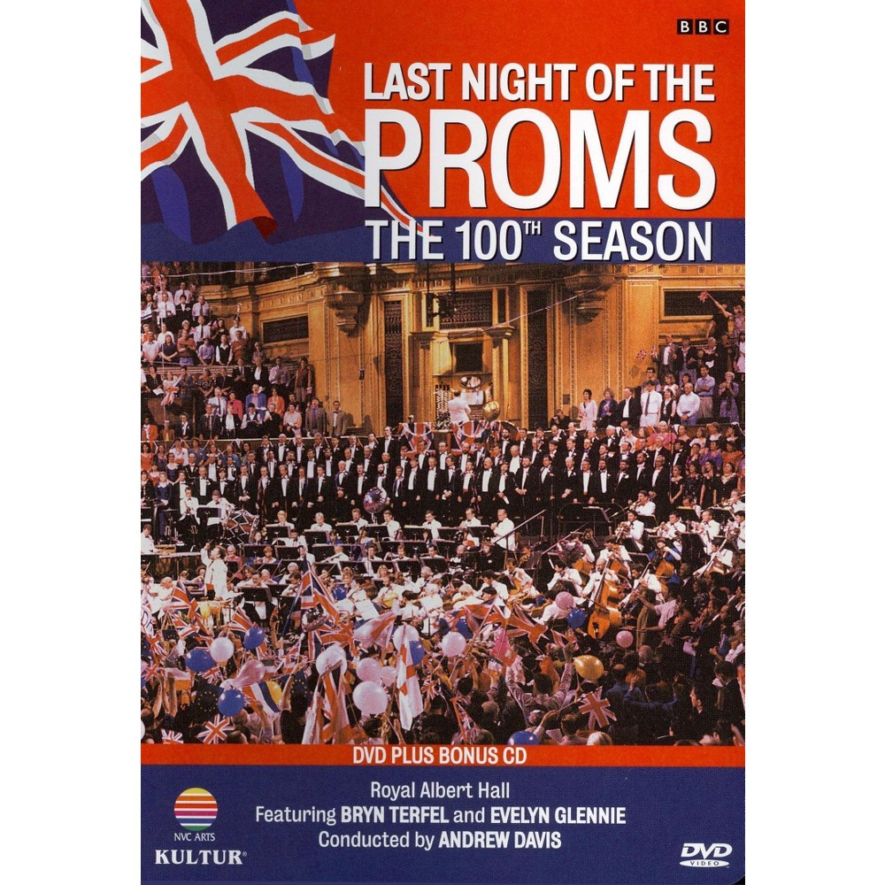 Bach:Last Night Of The Proms (Dvd)