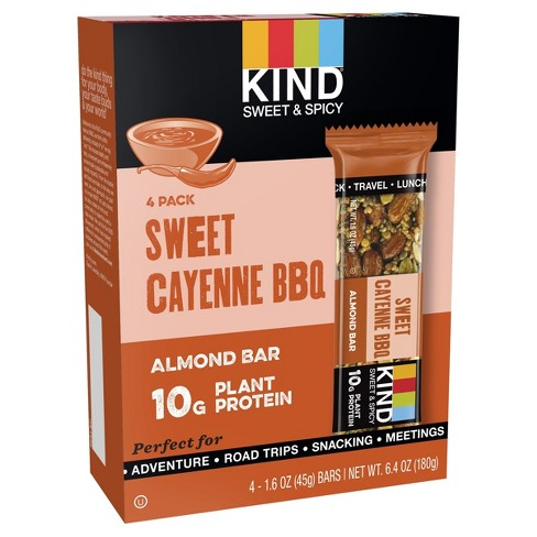 Kind® Honey Smoked Bbq Almond Protein Nutrition Bar - 6.4oz - 4ct - image 1 of 1