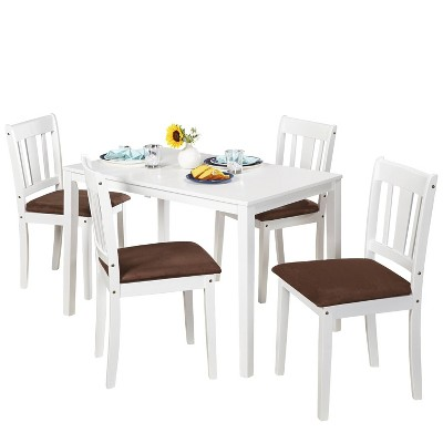 5pc Stratton Dining Set White - Buylateral