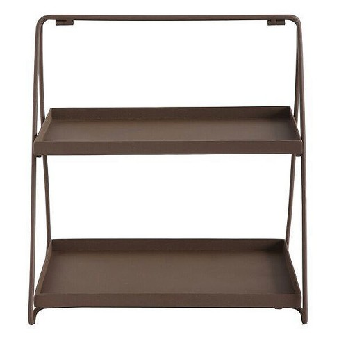 "Metal Tray Stand with 2-Tiers (14.75"") - 3R Studios - image 1 of 1"