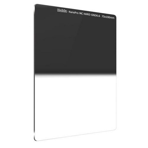 Haida NanoPro MC 75x100mm Hard Grad Neutral Density 4X (0.6) Multi Coated Glass Filter - image 1 of 3