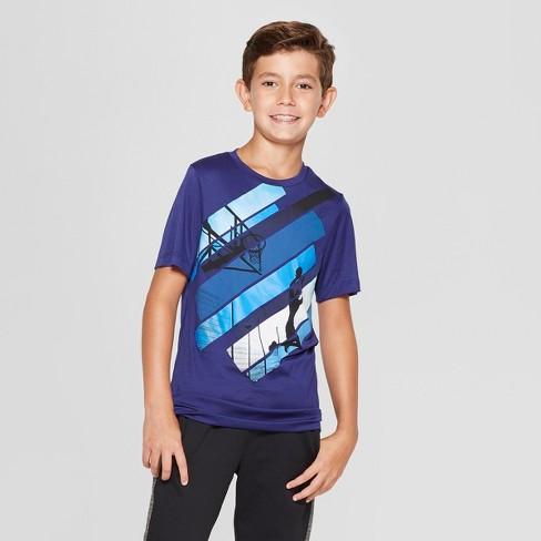 ab2a3036e Boys' Graphic Tech T-Shirt Sky Ball - C9 Champion® Blue : Target
