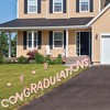 Big Dot of Happiness Rose Gold Grad - Yard Sign Outdoor Lawn Decorations - 2021 Graduation Party Yard Signs - ConGRADulations - image 2 of 4