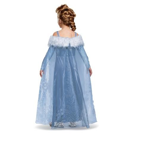 Girls\' Frozen Elsa Adventure Dress Deluxe Costume XS : Target
