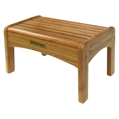 Ginsey Potty Step Stool - Bamboo