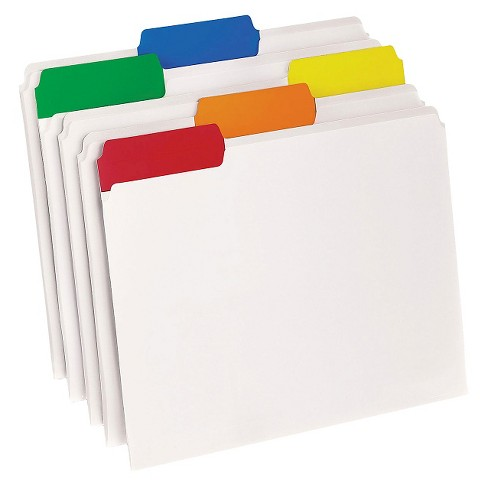 Pendaflex® EasyView Poly File Folders, 1/3 Cut Top Tab, Letter, Clear, 25/Box - image 1 of 1