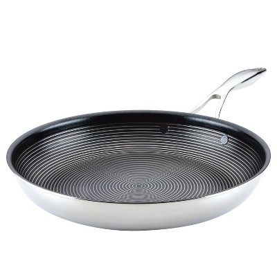 "Circulon SteelShield C-Series 12.5"" Clad Tri-Ply Nonstick Frying Pan"