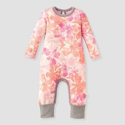 Burt's Bees Baby® Baby Girls' Market Miracles Jumpsuit - White 0-3M