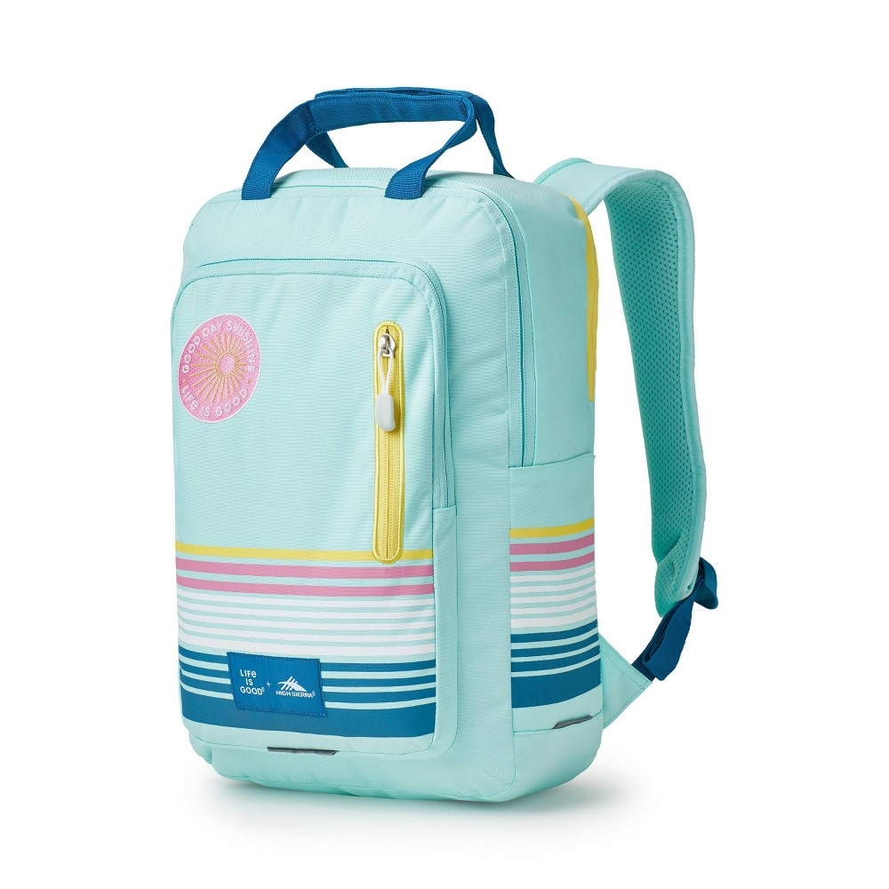 """Image of """"High Sierra Life Is Good 17"""""""" Mindie Backpack - Mint Green, MultiColored"""""""