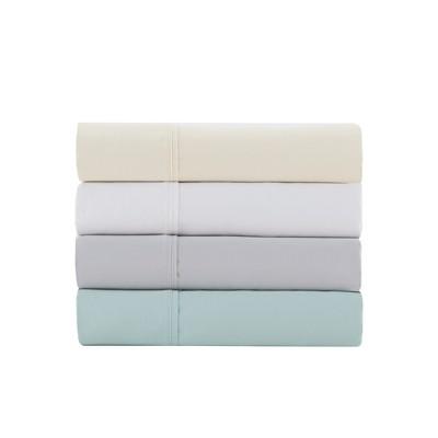Cotton Blend Pillowcases Set (Standard)Gray 1500 Thread Count