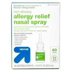 Fluticasone Propionate Allergy Relief Nasal Spray - Up&Up™