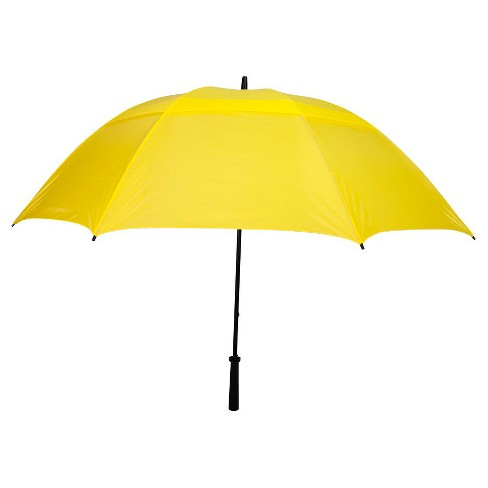Vented Golf Manual Stick Umbrella - Yellow - image 1 of 1