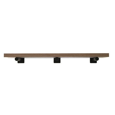 "42"" Floating Bracket Shelf Driftwood- InPlace"
