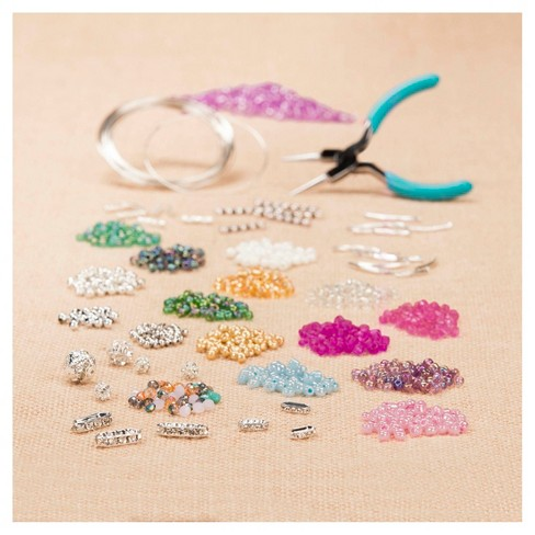 Craftabelle Deluxe Memory Wire Seed Bead Jewelry - image 1 of 4