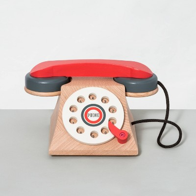 Wooden Toy Rotary Phone - Hearth & Hand™ with Magnolia