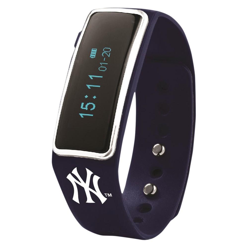 MLB New York Yankees Nuband Activity and Sleep Tracking Band - Black