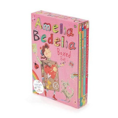 Amelia Bedelia Chapter Book Box Set #2: Books 5-8 (Paperback) (Herman Parish)