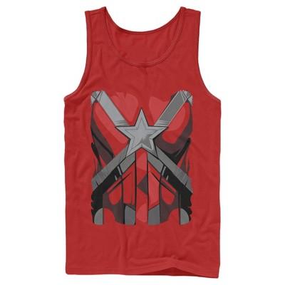 Men's Marvel Black Widow Guardian Costume Tank Top