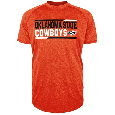 NCAA Oklahoma State Cowboys Men's Short Sleeve Performance T-Shirt