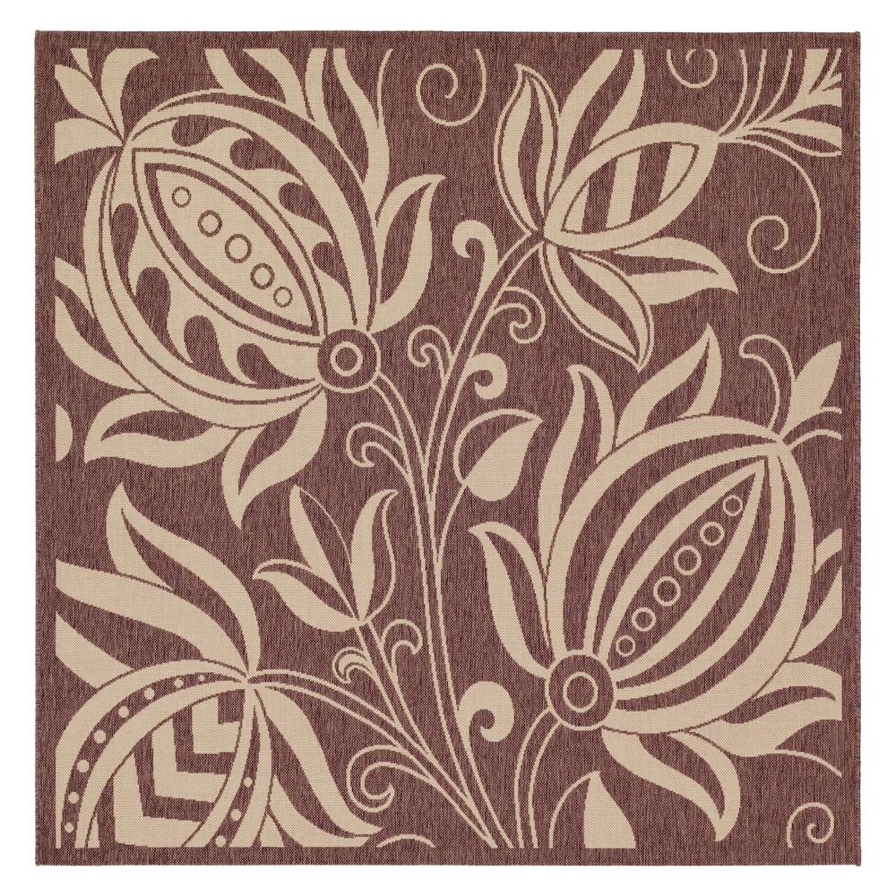 Coupons 710X710 Gori Outdoor Rug Chocolate Natural - Safavieh