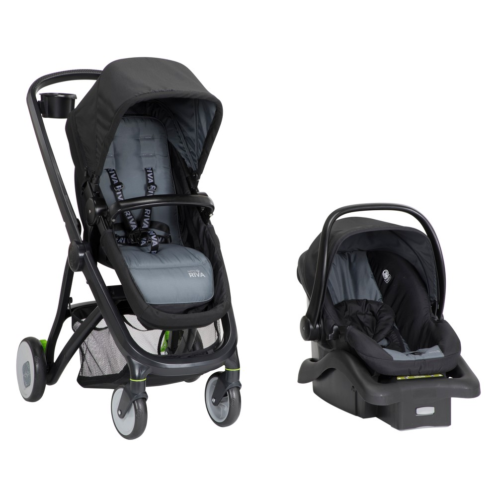 Image of Safety 1st RIVA 6-in-1 Flex Modular Travel System - Gray Canyon
